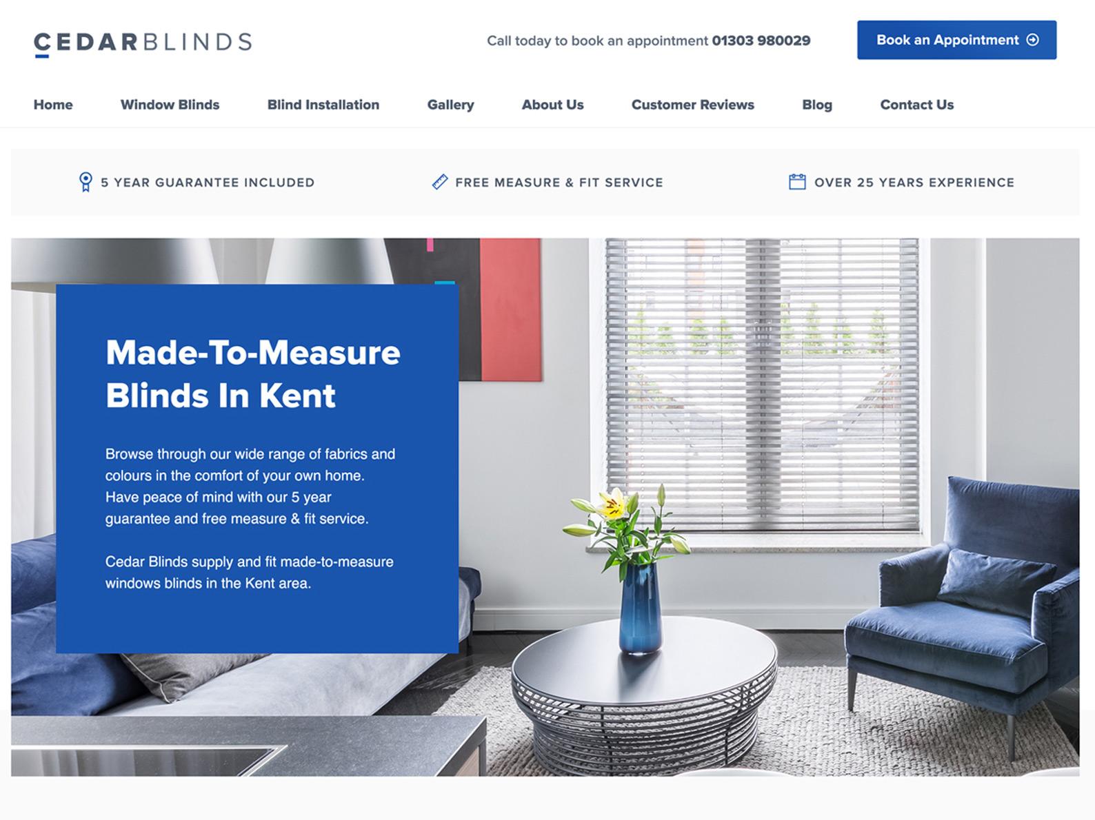 Window Blinds Website