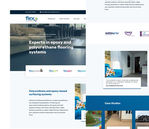 Flex Flooring Website