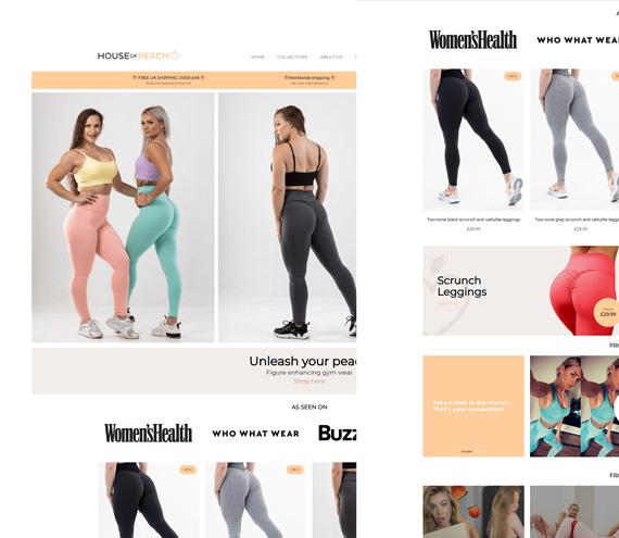 House of Peach Website